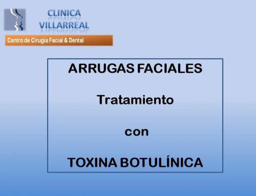 TRAMIENTO CON TOXINA BOTULÍNICA DE ARRUGAS FACIALES